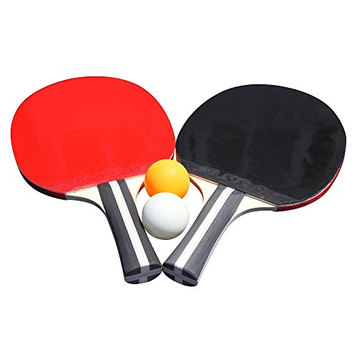 Hathaway Single Star Control Spin Table Tennis 2-Player Racket and Ball Set by Hathaway