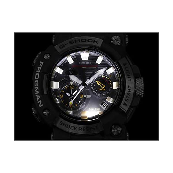 Casio G-Shock Frogman 2020 - Reloj analógico de cuarzo resistente a los golpes con Bluetooth, recepción de señal de… 3