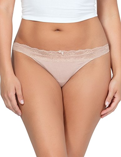 Parfait PP403 Women's Panty So Essential Bare Nude Panty Thong Med