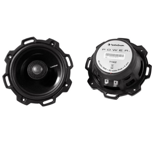 Rockford Fosgate T142 4-Inch 2 Way Pair of Full Range Speake