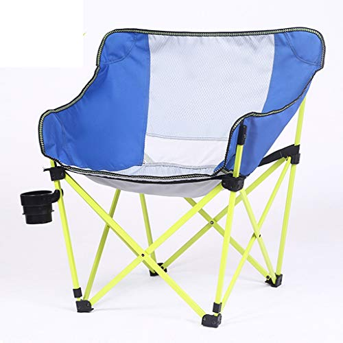 YAXIAO-Folding chair Outdoor Camping Equipment, Recreational Fishing Folding Chair Camping Chair Portable Magic Square…