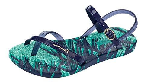 Ipanema Fashion Sand IV FEM, Women's Ankle Strap Sandals Jade/Navy