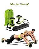 OneRetail 2323 Abdominal Roller Wheel Exercise Equipment (Black & Green)