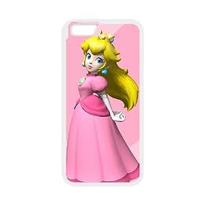 iPhone 6 Plus 5.5 Inch Cell Phone Case White Super Smash Bros Princess Peach LSO7912635
