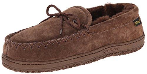 Old Friend Mens Loafer Moccasin Dk.Brown 13 D - Medium