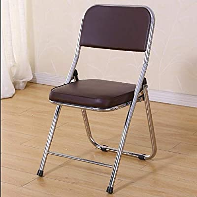 Simple silla plegable, silla plegable de hogar, sillas de oficina ...