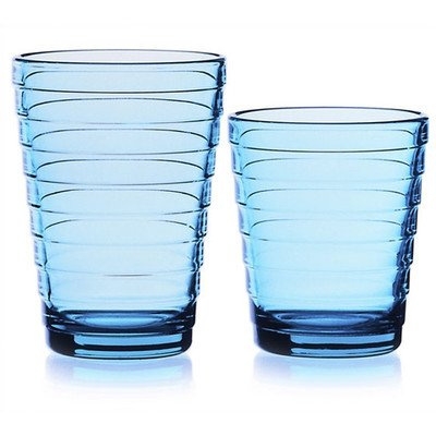 Bundle-00 Aino Aalto11.75 Oz. Tumblers Light Blue (Set of 2)