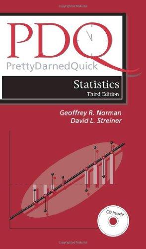 Pdq Statistics (PDQ Series) Third Edition