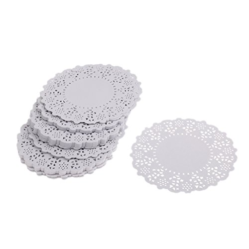 MagiDeal 250pcs 4.5 Inch White Paper Lace Doilies Cardmaking Decoration Doily - Used Can Which Online Be Gift Cards