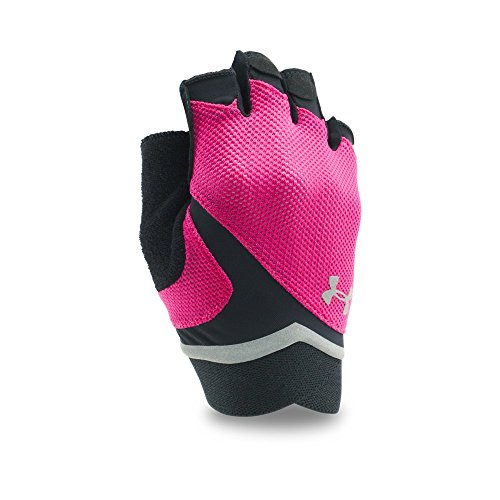 Under Armour Womens Flux, Tropic Pink /Silver, Large