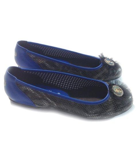 Blu Pantoffeldiva blu nero Donna Sneaker 0qnwApgR
