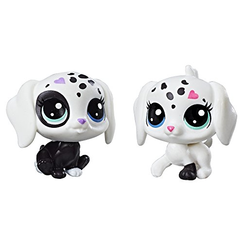 Littlest Pet Shop Black & White Puppy BFFs