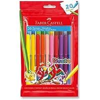 Faber-Castell 5068330450 Fiesta Keçeli Kalem, 20 Renk