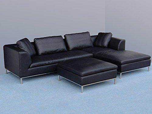 Design lederm bel ledersofas voll leder ecksofa sofa for Italienische ledermobel