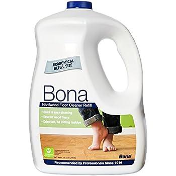 Bona Hardwood Floor Cleaner Review >> Amazon.com: Bona Hardwood Floor Cleaner Refill, 96 fl oz ...