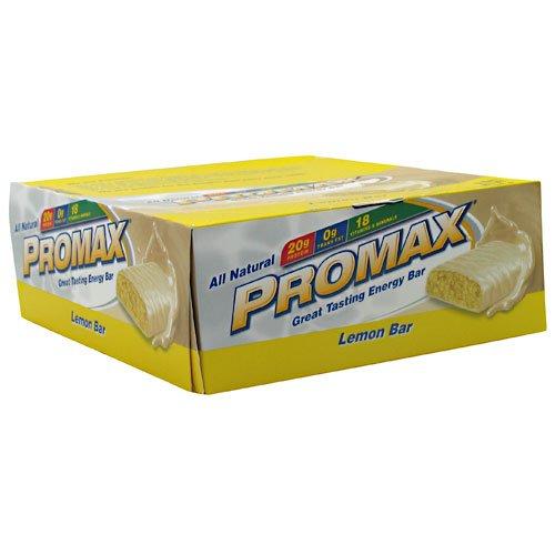 (Promax Energy Bar Lemon Bar 12 - 2.64 oz (75 g) bars [31.68 oz (900 g)])
