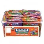 Maoam Stripes - Fruit Flavour Chew 12...