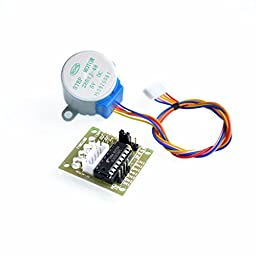CHENBO(TM) 5V 4-phase Stepper Motor 28byj-48 + Driver Board ULN2003 for Arduino