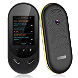 Language Translator Device Offline Translator Device Two Way Instant Voice Translator Support 106 Languageswith Camera Translation for Travelling Abroad Learning Shopping Business Chat Shopping Black