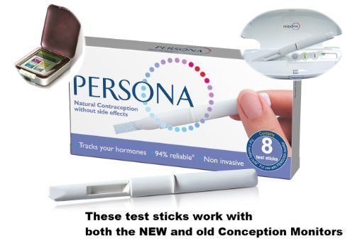 10 x Persona Contraception Refill Test Sticks - 80 Sticks by Persona