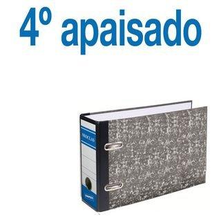 Definiclas 946608 - Archivador jaspeado, 75 mm, 4º apaisado, Caja de 12 Uds.: Amazon.es: Oficina y papelería