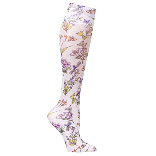 2a8769021 Women s Printed Mild Compression Wide Calf Knee Highs - Summerfest. by celeste  stein designs