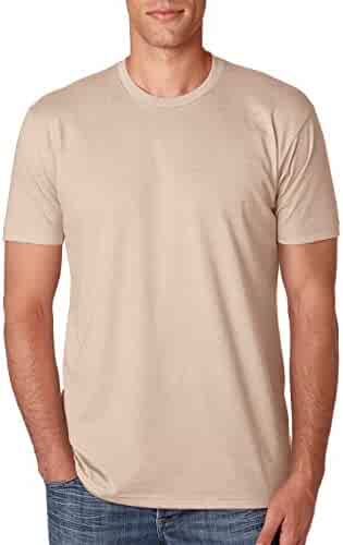 Next Level Apparel N6210 Mens Premium CVC Crew - Heather Cream, Large