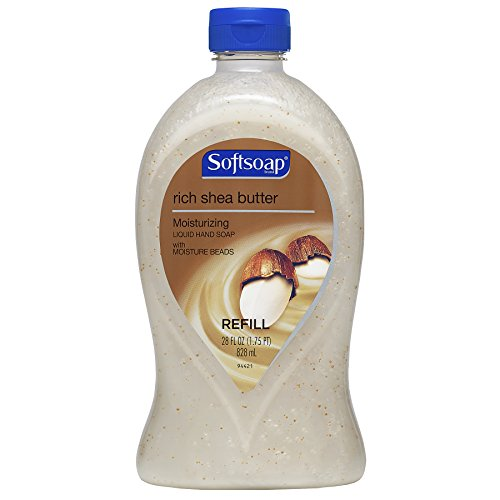 Softsoap Liquid Hand Soap Refill, Shea Butter - 28 ounce (6 Pack)
