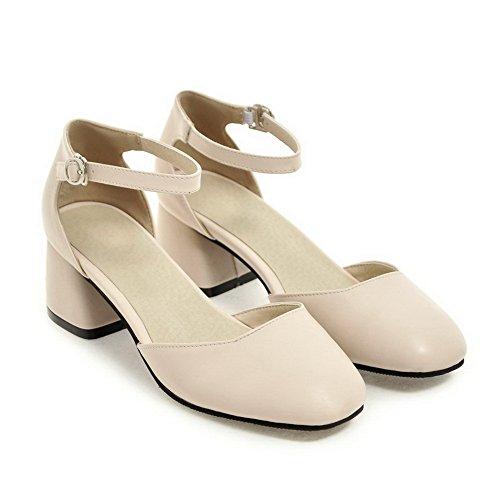 Sandales 36 EU Femme Beige Beige 5 Compensées BalaMasa dfTnd