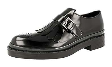Men's 2OG053 055 F0H79 Full Brogue Leather Business Shoes