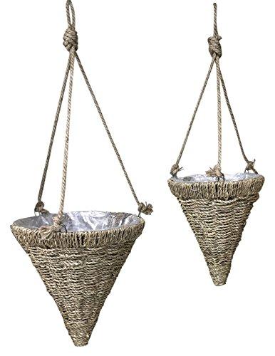 Hyacinth Hanging Cone - 1