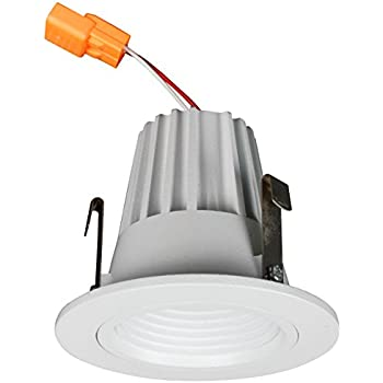 Cost Less Lighting 2  Inch LED Baffle Retrofit Kit Downlight 3000 Kelvin  sc 1 st  Amazon.com & Cost Less Lighting 2