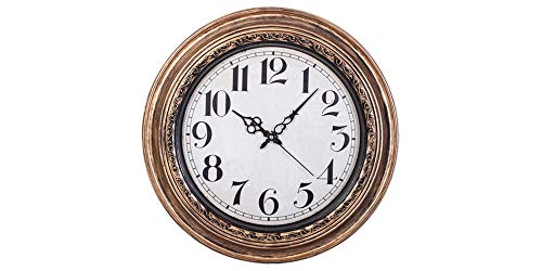 (Smartsense 19 Inches Large Wall Clocks Designer Silent Non-Ticking Quartz Wall Clock Decorative Indoor Kitchen)