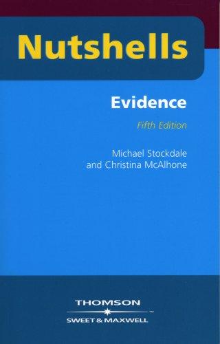 Nutshell Evidence (Nutshells) Christina McAlhone