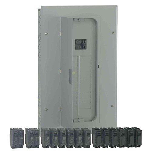 GE PowerMark Gold 125 Amp 8-Space 16-Circuit Indoor Main Lug Breaker Value Kit