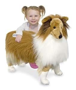 Melissa & Doug Plush Shetland Sheepdog