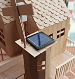 Pica Toys 3D Wooden House with Solar Windmill and