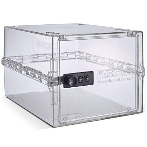 Lockabox One | Compact and Hygienic Lockable Box for Food, Medicines and Home Safety