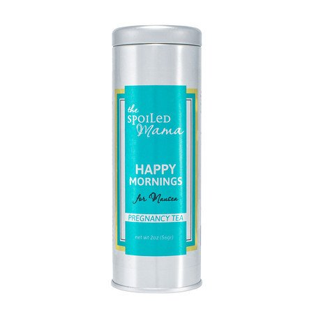 Morning Sickness Balm - Happy Mornings Pregnancy Tea for Morning Sickness ~ Help stop Nausea~ (With Mesh Tea Ball) | The Spoiled Mama