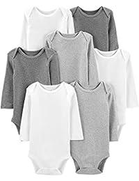 Baby 7-Pack Long-Sleeve Bodysuit
