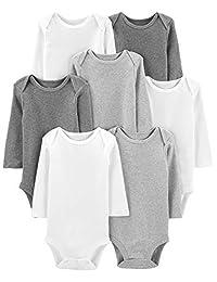 Simple Joys by Carter's Baby 7-Pack Long-Sleeve Bodysuit,