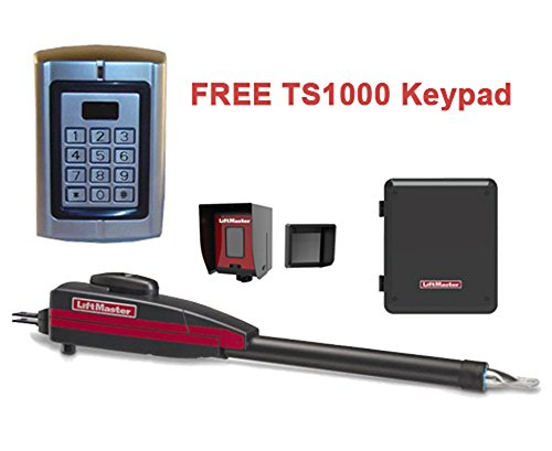 NEW Liftmaster LA400PKGU Swing Gate Opener Kit with a FREE TS1000 Keypad!