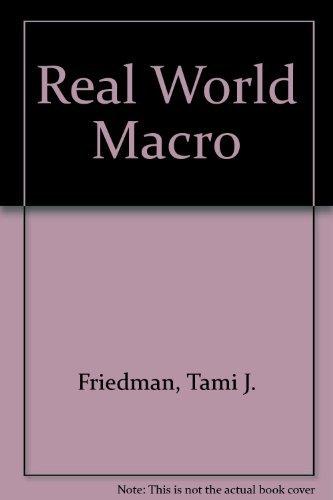 Real World Macro