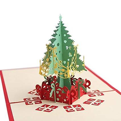 Tarjetas De Invitación Tarjetas De Navidad 3d Pop Up Tree