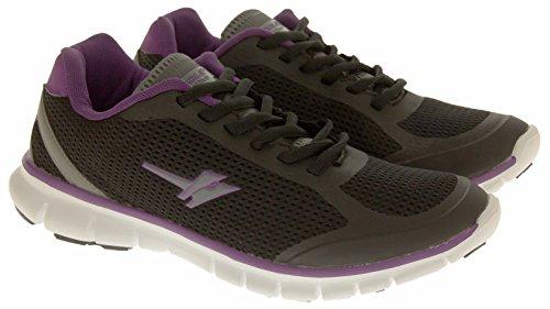 ... Da black Ginnastica 5 Per Active Taglia Gola Purple Nero Fitness 8  Womens Esercizi ... 64cfc164dfb