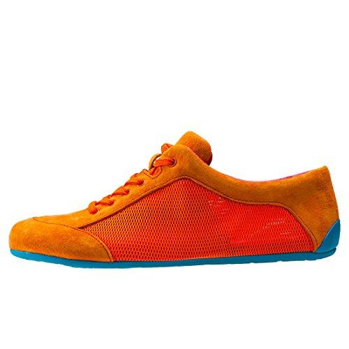 CAMPER Damen Peu Summer Senda Sneakers Orange Blue