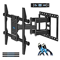 Mounting Dream Full Motion TV Wall Mount MD2296-P for 42-70 Inch TV and Max VESA up to 600x400mm and Max 100 LBS Loading