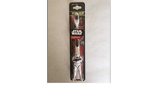 Cepillo de dientes de pie para niños de Disney Star Wars Stormtrooper: Amazon.es: Juguetes y juegos