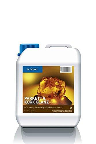 CC Dr. Schutz Parkett und Kork Glanz 5 L Parkettboden Pflege und Auffrischung