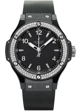 Hublot Black Magic Automatic Black Dial Black Rubber Mens Watch 361.CV.1270.RX.1104